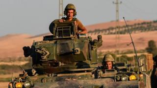 جنود أتراك في سوريا