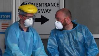 NHS staff at Royal Liverpool Hospital