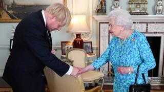 Johnson dan ratu Inggris