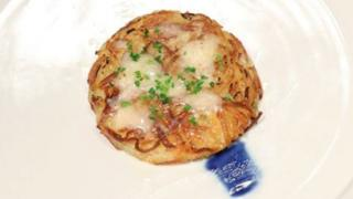 Handout image of a rösti dish to be cooked for North Korea's Kim Jong-Un