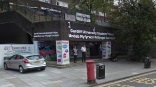 Cardiff Students' Union bar