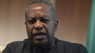 Nigeria Foreign Affairs Minister, Geoffrey Onyeama