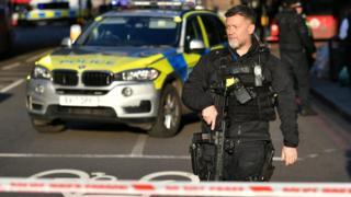 Police officer at scene