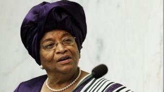 Ellen Johnson Sirleaf shugabar Liberia