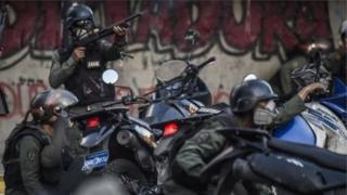 Nhân chứng nói lực lượng an ninh Venezuela bắn đạn chì ở cự ly gần vào người biểu tình