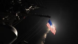 """З двох кораблів ВМФ США було запущено 59 ракет """"Томагавк"""""""
