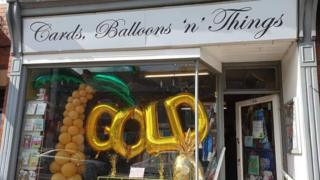Earlsdon shops go gold for Ben Crowther