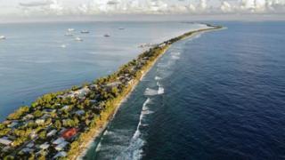 Funafuti, Tuvalu.