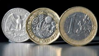 pound versus euro and dollar
