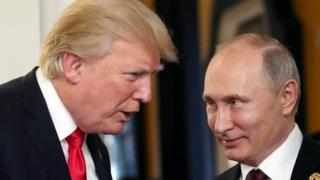 ABD Başkanı Trump ve Rusya Devlet Başkanı Putin APEC Zirvesi'nde