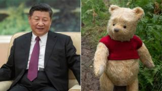 Winnie the Pooh blocked in China
