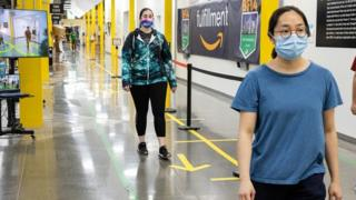 Technology Amazon workers