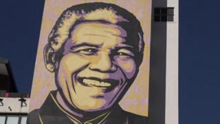 Nelson Mandela artwork