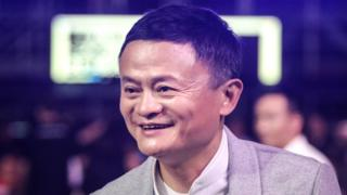 Co-founder of Alibaba Group Jack Ma .