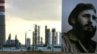 La refinería de Cienfuegos