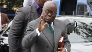 Le nouveau président du Ghana, Nana Akufo-Addo