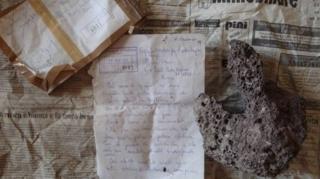 Mektup ve çalıntı parça
