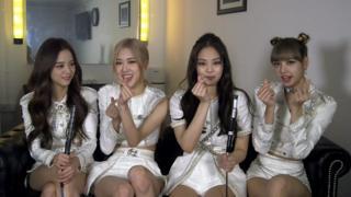 Blackpink - L-R Jisoo, Rose, Jennifer, Lisa