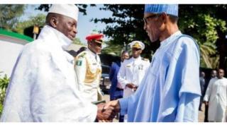 Yahaya Jammeh da Muhammadu Buhari