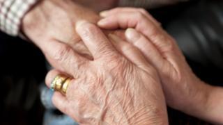 Geriatric carer and Patient