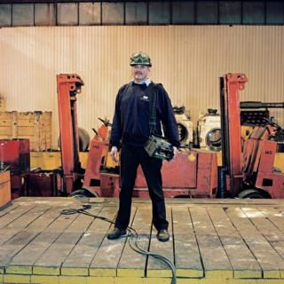Vincent Keane, Team Leader - Temper Mill, 33 years at the Works