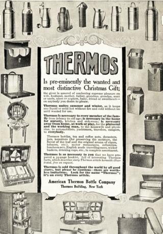 advert for Thermos