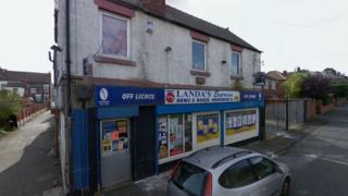 Corner shop on Hickleton Street, Denaby, Doncaster