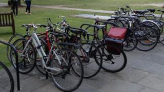 Bikes at UCL