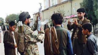 Wapiganaji wa Taliban waliinga mji wa Kunduz mwezi Septemba
