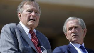 both bush presidents