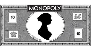 Jane Austen Monopoly money