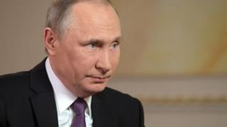 روسی صدر ویلادیمر پوتن