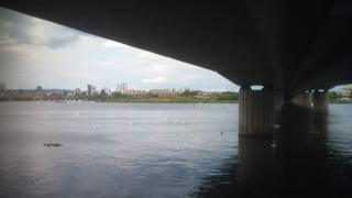 River Ely and flyover