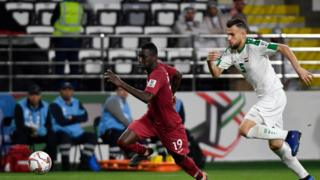 Qatar v Iraq in Asian Cup on 22 January 2019