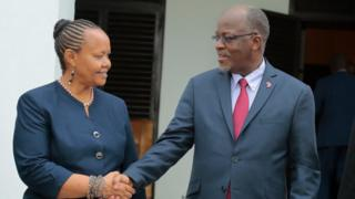 Bi Mghwira aliwania urais mwaka 2015 kupitia chama cha ACT Wazalendo