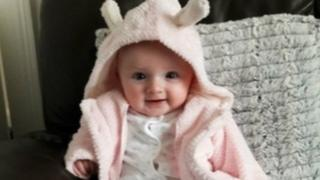 Mili Wyn Ginniver was six months old