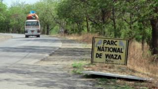 L'entrée du parc national de Waza qui était jadis une attraction pour les touristes n'est plus fréquentée à cause des attaques de Boko Haram