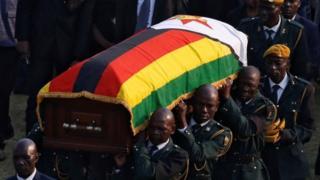 Viongozi wamuomboleza Mugabe