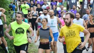 Трка у Јелашничкој клисури