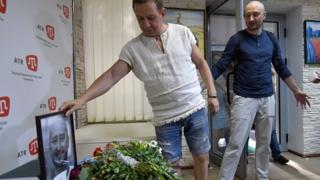 Аркадій Бабченко у редакції ATR