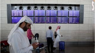 قلق وتوتر في قطر