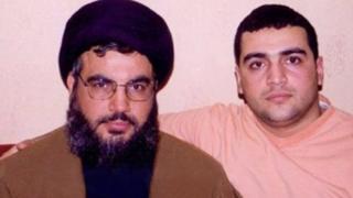 جواد نصرالله د حزب الله ډلې له مشر او له خپل پلار حسن نصرالله سره