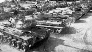 सेना के टैंक