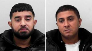 Razwan Hussain (left) and Naveed Hussain (right)