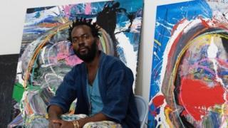 Rencontre avec Kodjovi Olympio, artiste peintre autodidacte d'origine togolaise. Il s'est fait remarquer dans les rues de Los Angeles avant d'être exposé dans de grandes galeries.