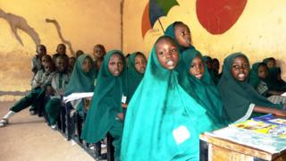 A classroom in northern Nigeria
