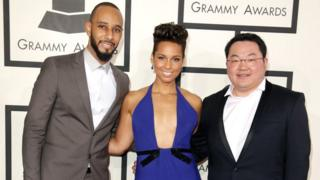 Swizz Beatz, Alicia Keys and Jho Low