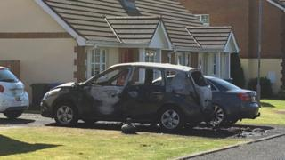 burnt car londonderry