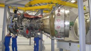 MT30 marine gas turbine