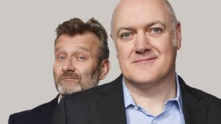 Hugh Dennis and Dara O'Briain